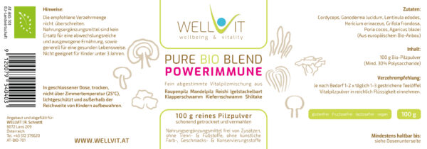 Bio Heilpilze Mix Powerimmune