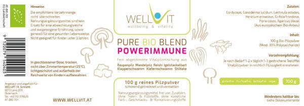Bio Heilpilze Mix Powerimmune