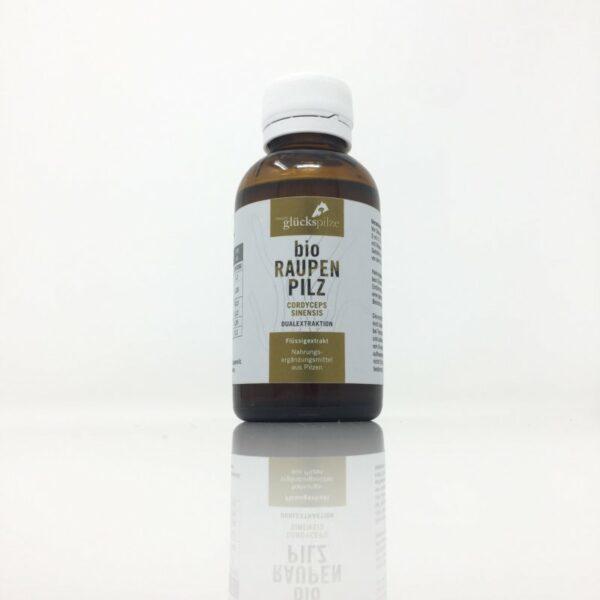 Raupenpilz Flüssigextrakt BIO - Cordyceps sinensis BIO Vollauszug 100ml Flasche