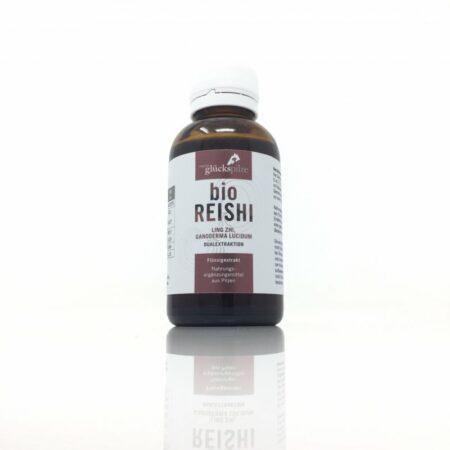 Reishi (Ling Zhi) Flüssigextrakt BIO - Ganoderma lucidum BIO Vollauszug 100ml Flasche